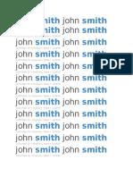 ResumeTemplate 1john smith john smith 1234 Main St • Anytown, State • 123456