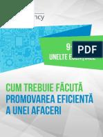 Pera Novacovici - Cum trebuie facuta promovarea eficienta a unei afaceri 9+1 unelte esentiale