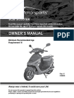 Owners Manual Sc50 Scooter