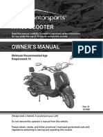 Owners Manual Rt150