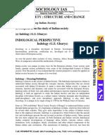 Perspectives on Indian Society - Bibhash Sharma IAS