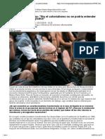 """Boaventura de Sousa """"Sin El Colonialismo No Se Podría Entender La Crisis de Los Refugiados"""""""