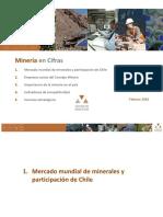 Minería en Cifras Febrero 2016