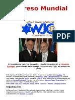 Congreso Mundial Judío