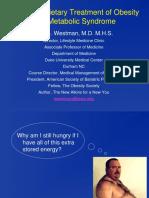 Dr Eric Westman Pg 4 Sugar Substitute Dieting