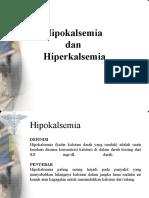 Hiper Dan Hipokalsemia