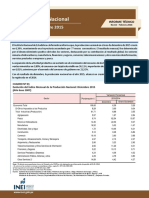 Informe Tecnico diciembre 2015 INEI