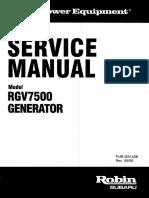 Service en RGV7500