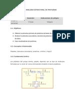 Análisis Estructural de Proteinas