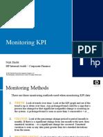 KPI Monitoring