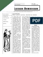 303 - Laicado Dominicano Março 2003