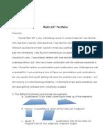 math 207 portfolio