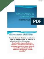 Investigacion de Operaciones Introduccion - Mejorado-2
