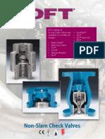 DFT Check Valve - Product Summary