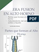 Primera Fusion en Alto Horno_ Lira Resendiz Estefania
