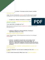 23 Ian 2016 English Vocabulary