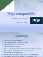 Flujo Compresible (Primera y Segunda Clase)