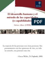 El desarrollo humano y el método de las capacidades (o capabilidades)