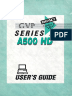 GVP Impact Series II A500 HD Users Guide