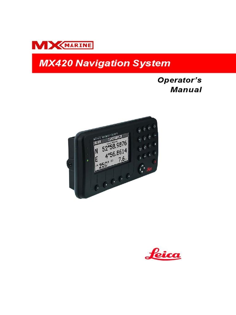 mx420 operator manual global positioning system navigation rh scribd com