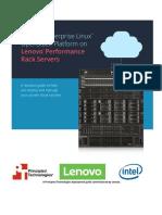 Deploying Red Hat Enterprise Linux OpenStack Platform 7 on Lenovo Performance Rack Servers