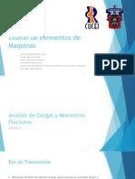Análisis de Cargas y Momentos Flectores