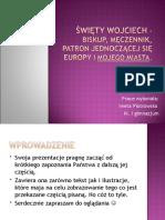 I Piotrowska Sw Wojciech