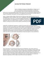 Como Tratar El Glaucoma De Forma Natural