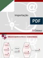 Apresentação Módulo Importação Datasul