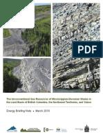 Liard Basin Natural Gas Report
