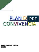 PLAN DE CONVIVENCIA C.E.I.P. HERNÁNDEZ ARDIETA OJETIVOS GLES. Y ESPECIFICOS