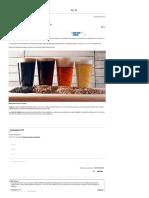 Receta de Cerveza Artesanal
