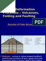 g OodVolcanoes Folding Faulting