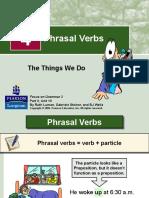 Phrasal Verbs (verbos frasais)