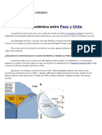 Polémica Entre Perú y Chile