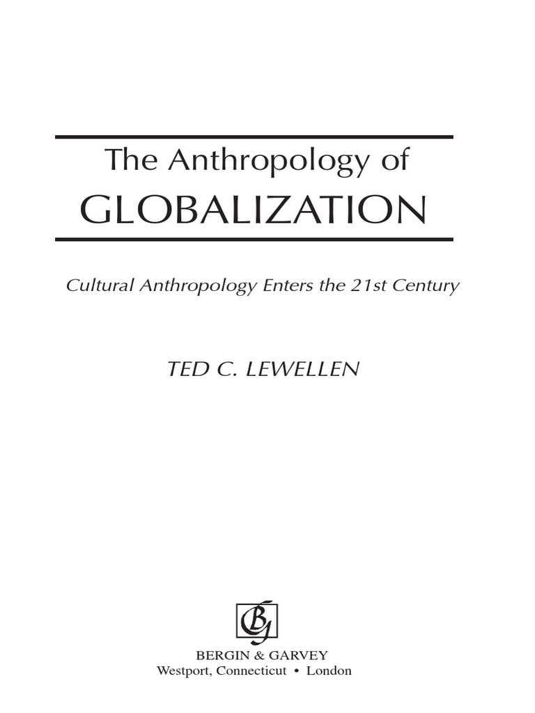 political anthropology an introduction lewellen ted