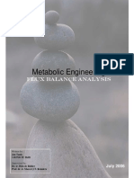 Research Assignment Jan Tanis - Flux Balance A