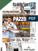 Gazzetta Dello Sport 26-04-2010