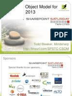 Client-Side Object Model for SharePoint 2013 - Bleeker
