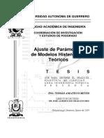 Ajuste de Parametros de Modelos Histeret