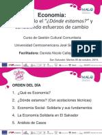 Economía Global- Economía Alternativa