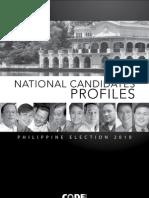 [Philippine Elections 2010] National Candidates Profiles Summary CODE NGO