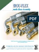 Throu-Flex Technical Leaflet - Hydraulic Hose Assembly