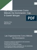 Las Organizaciones Como Método de Dominación