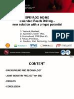 SPE-163463 - ERD New Solution-Presentation