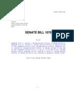 Arizona's Immigration Bill SB1070