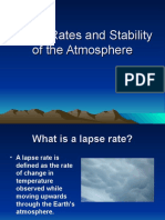 Lapse Rates and Stability