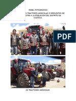 Panel Fotografico Tractor