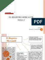 Tema 2 Registro Mercantil