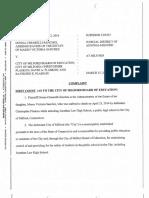 Lawsuit brought by Maren Sanchez's mother